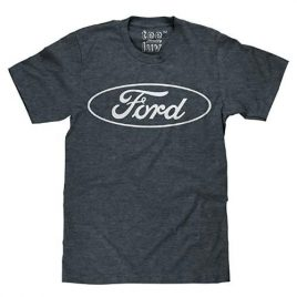 Ford Oval Logo T-shirt –  Soft Touch Fabric