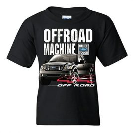 Offroad Machine Built Ford Tough Tee