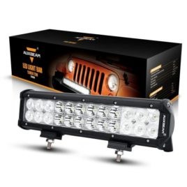 Auxbeam 12-Inch 72W CREE LED Spot/Flood Light Bar