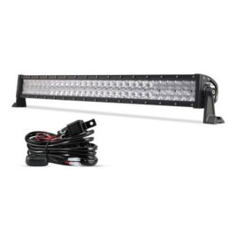 Auxbeam 32-Inch 180W CREE LED Spot/Flood Light Bar With Wiring Harness