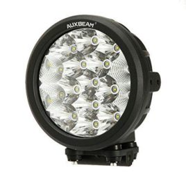 Auxbeam 7-Inch Round 80w CREE LED Spot/Flood Light