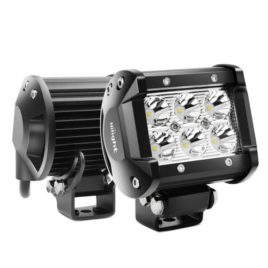 Nilight 18W Led Spot Beam Light Pods (Pair)