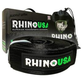 Rhino USA Recovery Tow Strap 3″ x 20′ Tow Strap